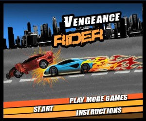 Vengeance rider. Flash игры
